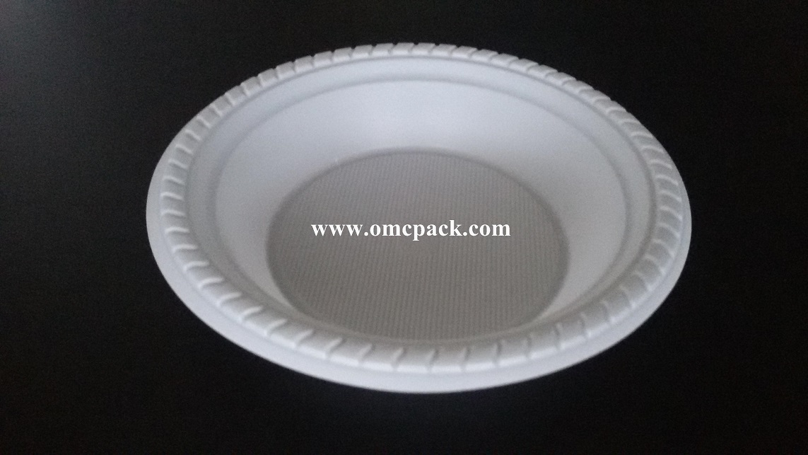 7 inch ps plastic bowl