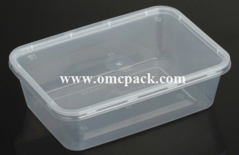 M700 PP disposable food container 700ml