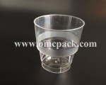 Plastic cup for airline use 250ml