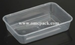 M500 PP takeaway food container 500ml