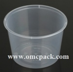 M-20 Clear PP food container 20oz