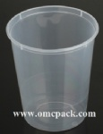 M-32 Disposable plastic container 32oz