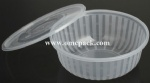 1.2L Microwave safe plastic container